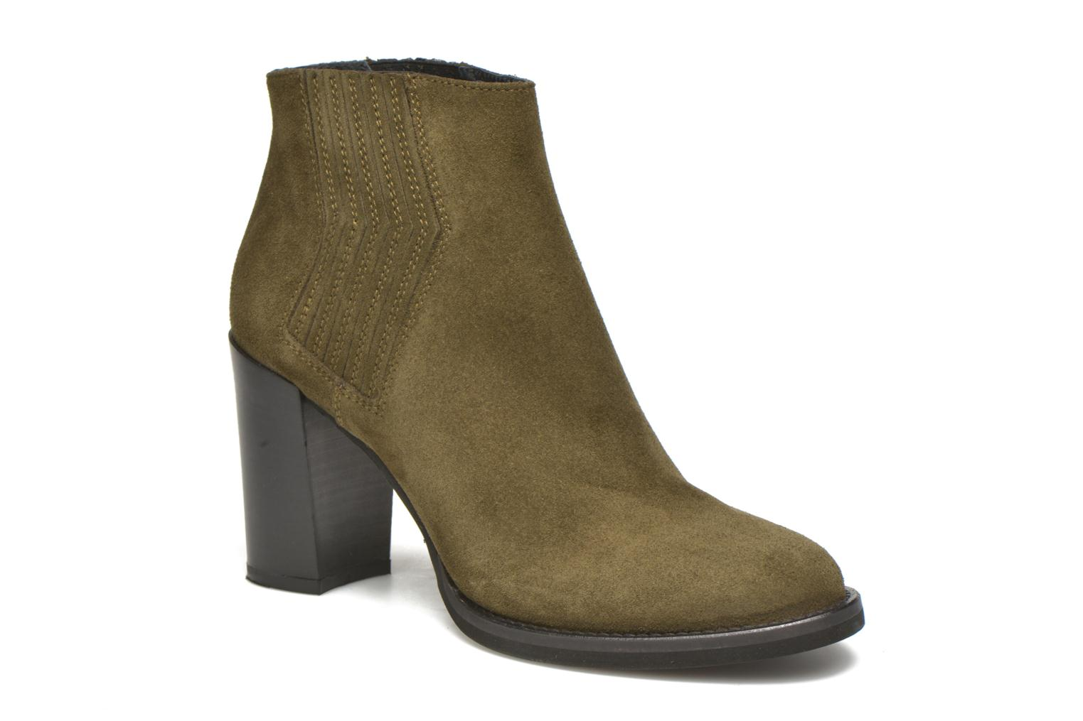 Ankle boots Minelli Yvare Green detailed view/ Pair view
