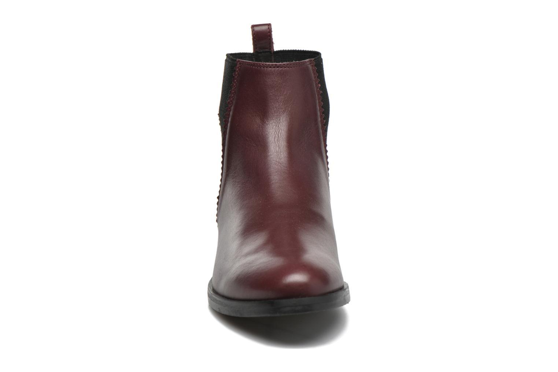 Bottines et boots Minelli Mièl Bordeaux vue portées chaussures
