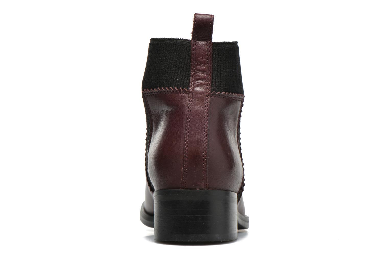 Bottines et boots Minelli Mièl Bordeaux vue droite