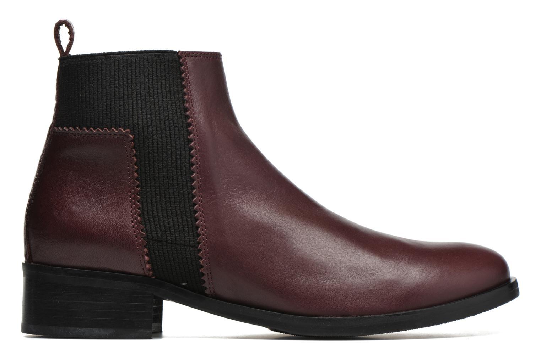 Bottines et boots Minelli Mièl Bordeaux vue derrière