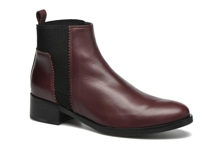 Bottines et boots Minelli Mièl Bordeaux vue détail/paire