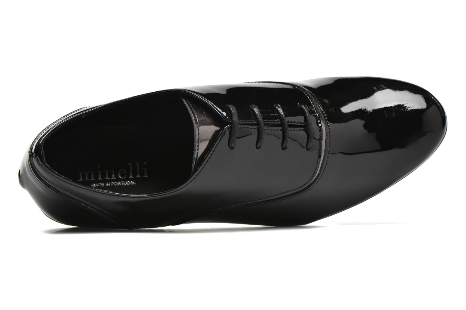 Lace-up shoes Minelli Scintyll Black view from the left