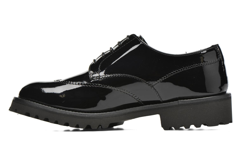 Zapatos con cordones Minelli Roke Negro vista de frente