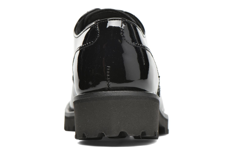 Zapatos con cordones Minelli Roke Negro vista lateral derecha