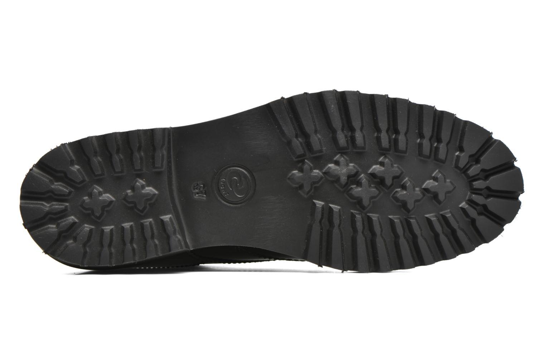 Zapatos con cordones Minelli Roke Negro vista de arriba