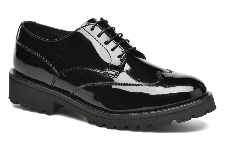 Zapatos con cordones Minelli Roke Negro vista de detalle / par
