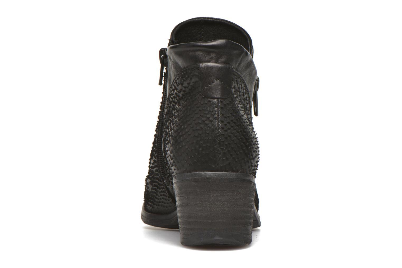 Bottines et boots Khrio Tubunus Noir vue droite