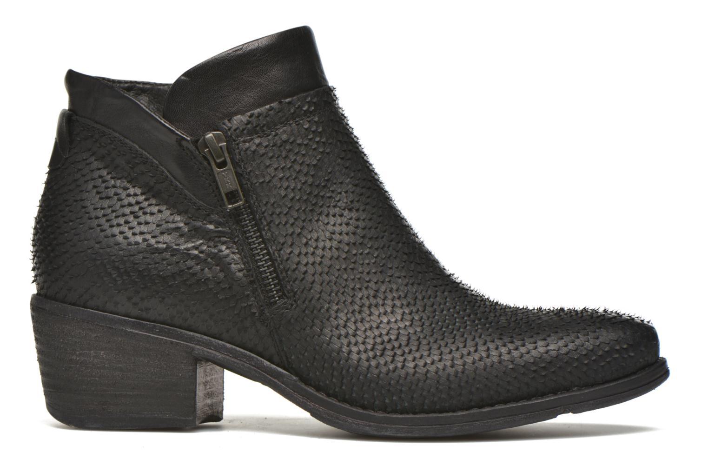 Bottines et boots Khrio Tubunus Noir vue derrière