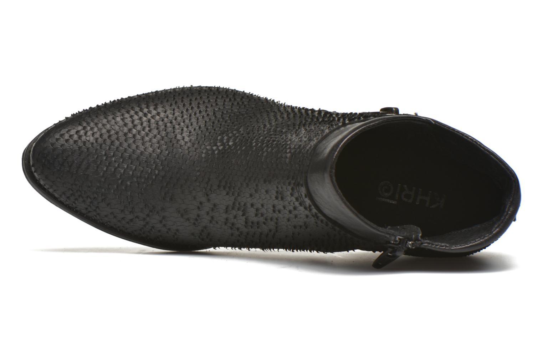 Bottines et boots Khrio Tubunus Noir vue gauche