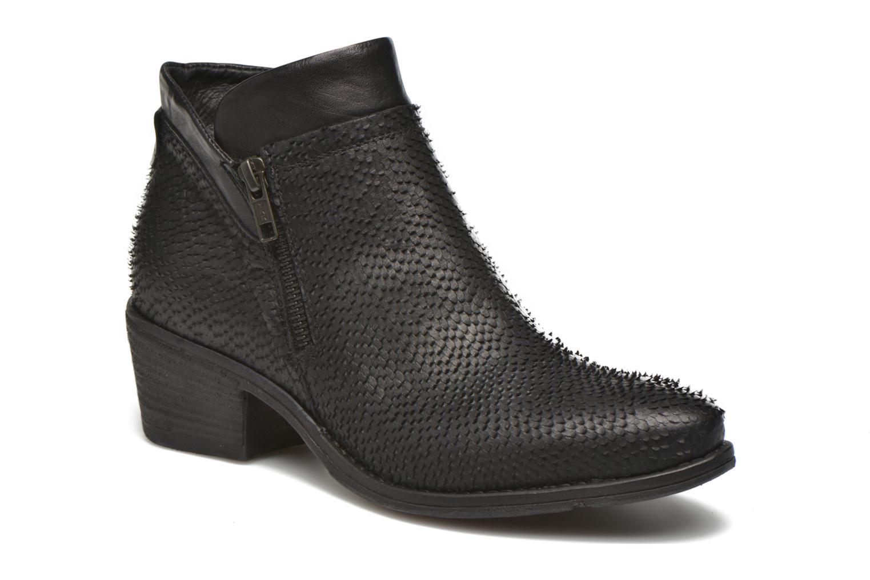 Bottines et boots Khrio Tubunus Noir vue détail/paire