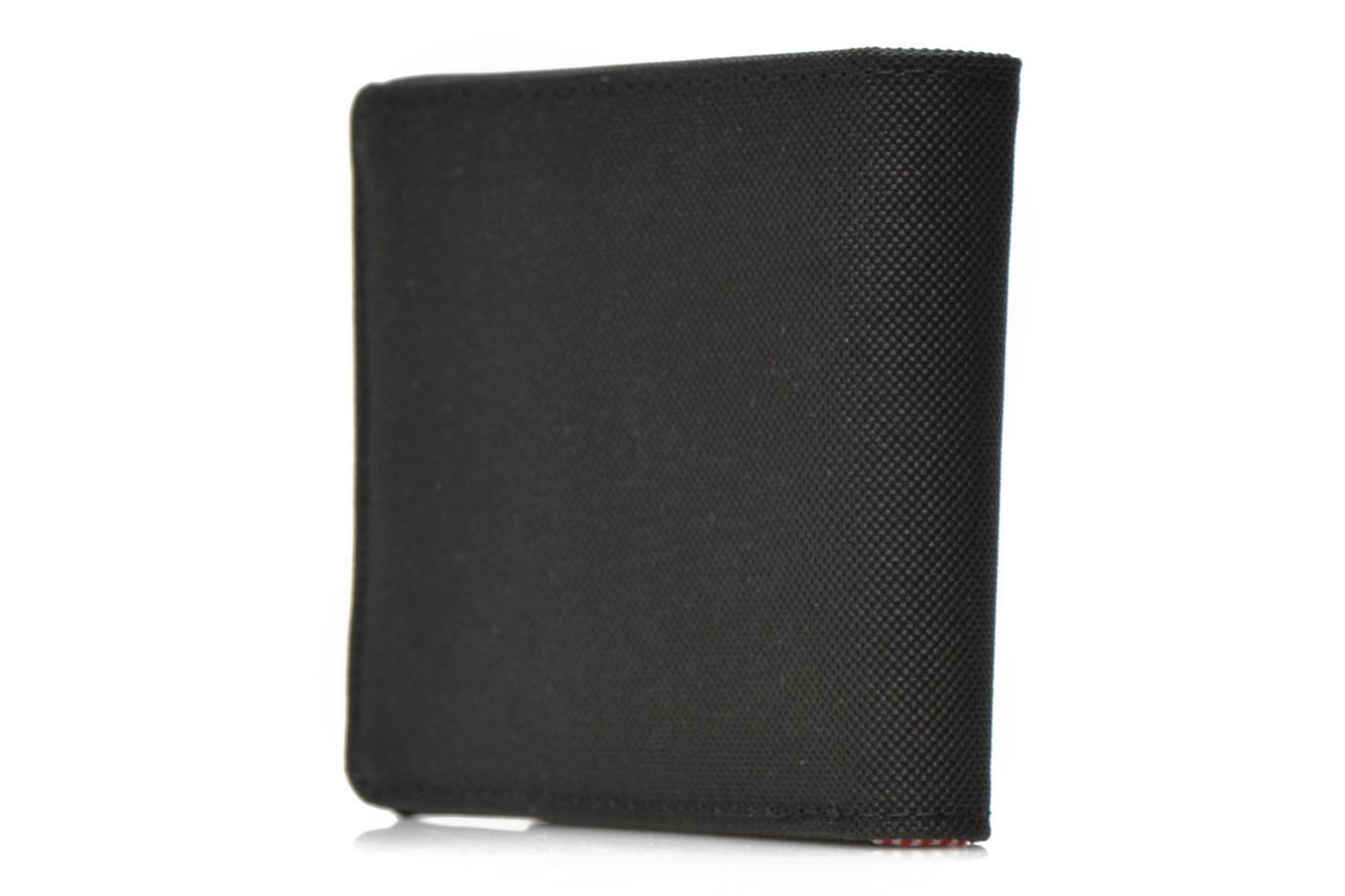 Wallets & cases Herschel ROY COIN Portefeuille Black view from the right
