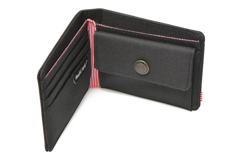 Wallets & cases Herschel ROY COIN Portefeuille Black back view