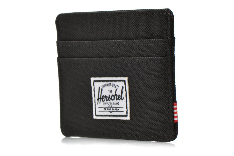 Portemonnaies & Clutches Herschel CHARLIE Porte-cartes schwarz schuhe getragen