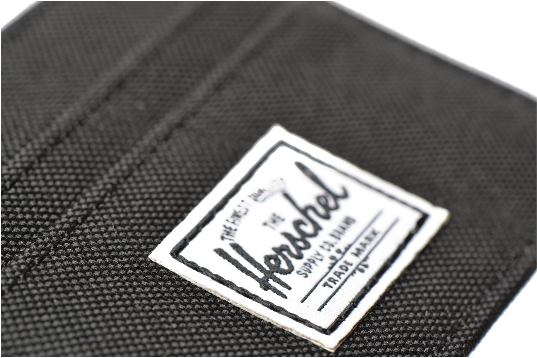 Portemonnaies & Clutches Herschel CHARLIE Porte-cartes schwarz ansicht von links