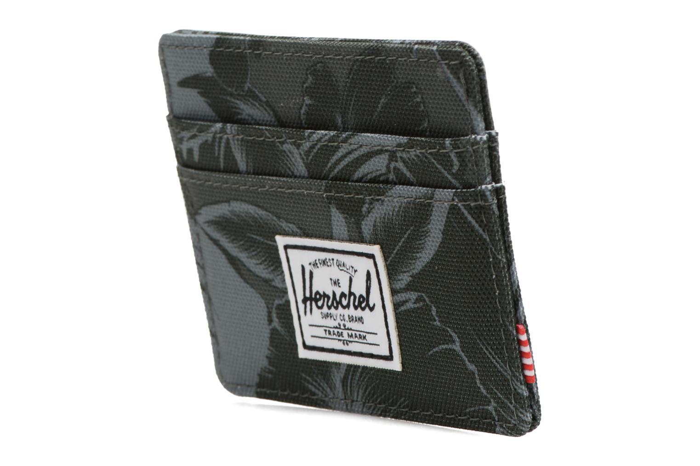 Portemonnaies & Clutches Herschel CHARLIE Porte-cartes grün schuhe getragen
