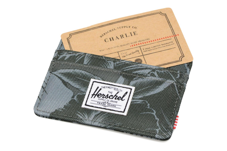 Petite Maroquinerie Herschel CHARLIE Porte-cartes Vert vue derrière