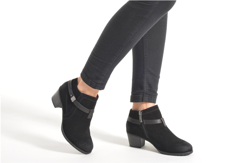 Bottines et boots Hush Puppies MARIA Bleu vue bas / vue portée sac