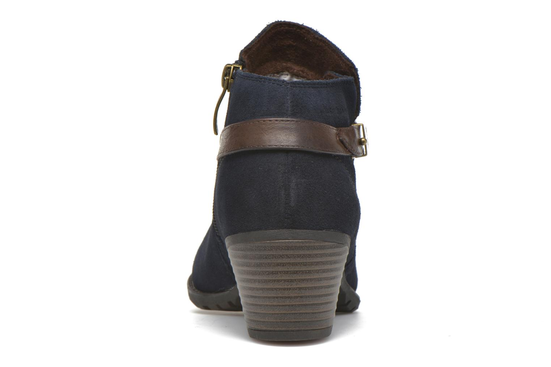 Bottines et boots Hush Puppies MARIA Bleu vue droite
