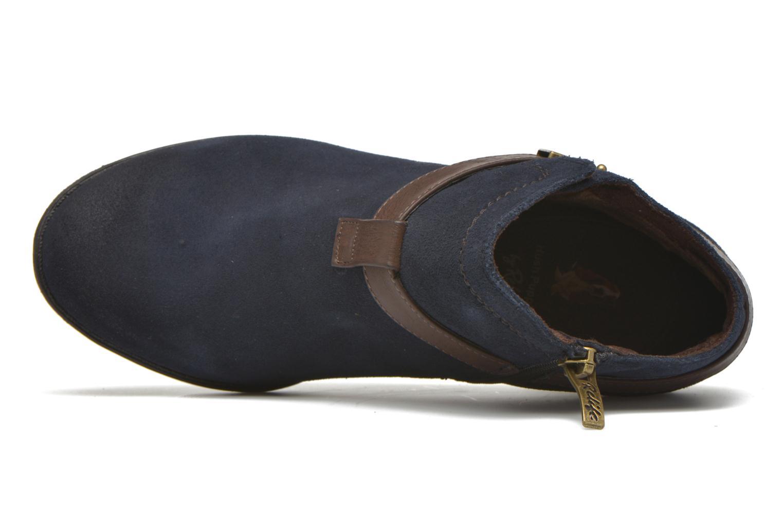 Bottines et boots Hush Puppies MARIA Bleu vue gauche