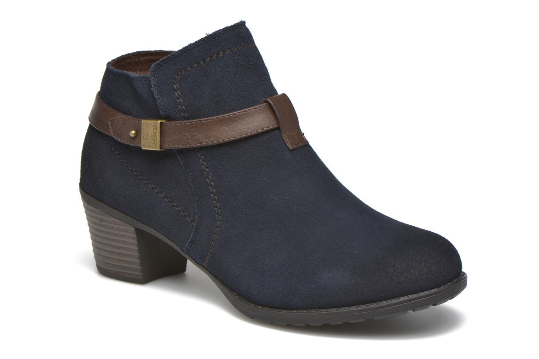 Bottines et boots Hush Puppies MARIA Bleu vue détail/paire