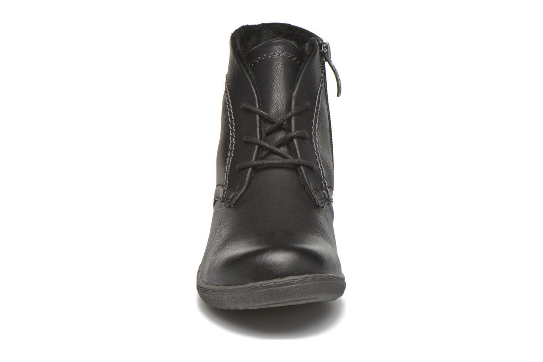 Bottines et boots Hush Puppies JULIA Noir vue portées chaussures