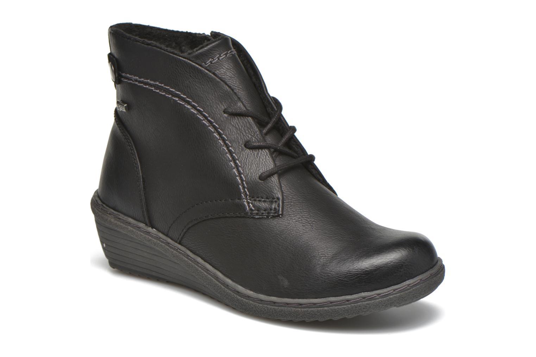 Bottines et boots Hush Puppies JULIA Noir vue détail/paire