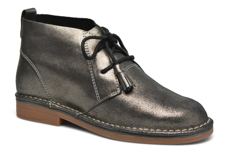 Bottines et boots Hush Puppies Cyra Catelyn Argent vue détail/paire