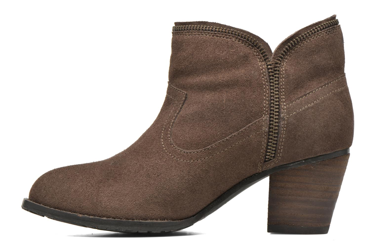 Ankle boots Hush Puppies KENT Brown front view