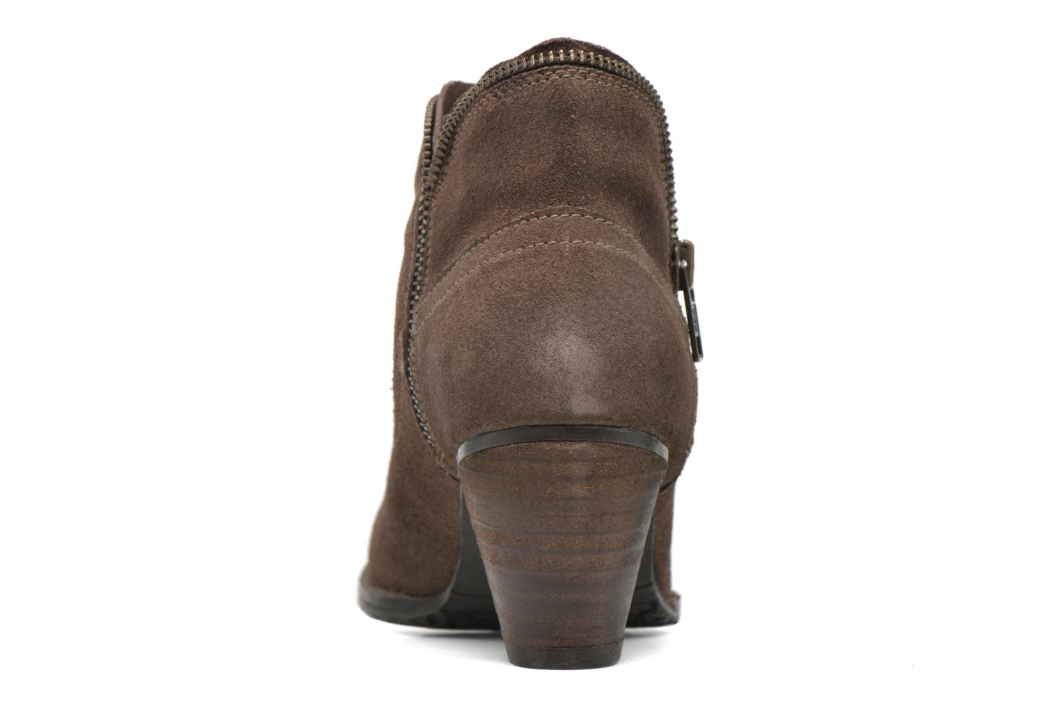 Ankle boots Hush Puppies KENT Brown view from the right