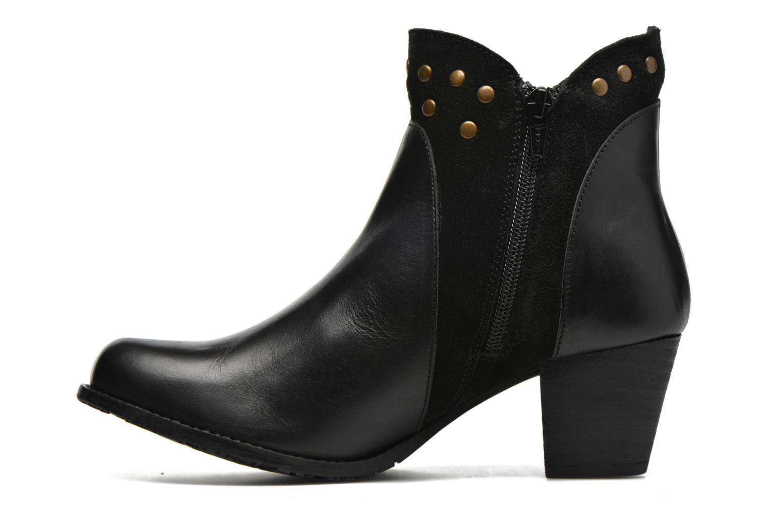 Ankle boots Hush Puppies KRIS Black front view