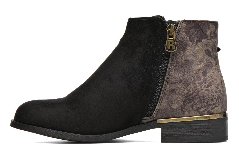 Ankle boots Refresh Marbré 62296 Black front view