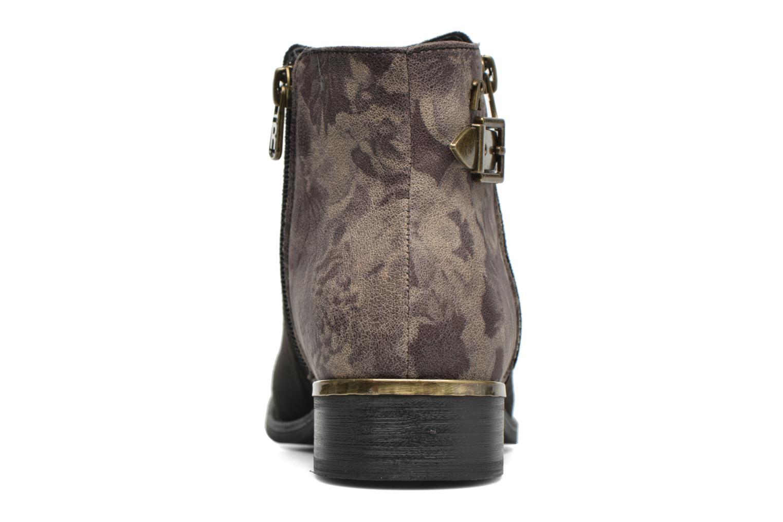 Bottines et boots Refresh Marbré 62296 Noir vue droite