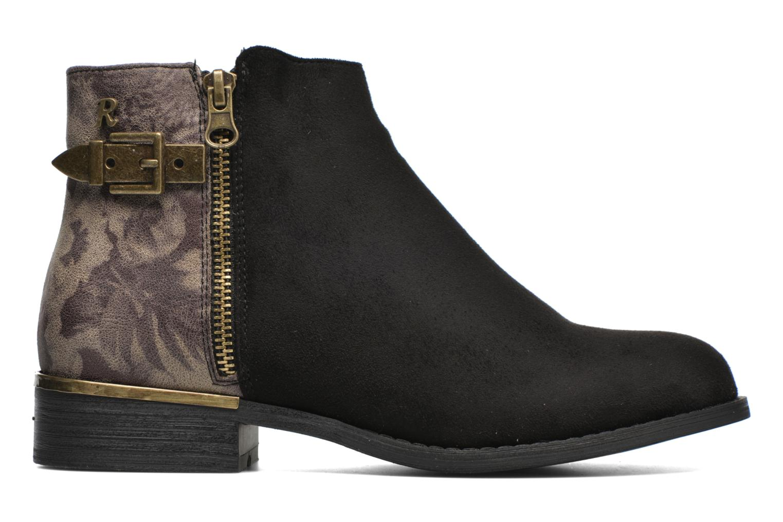 Ankle boots Refresh Marbré 62296 Black back view
