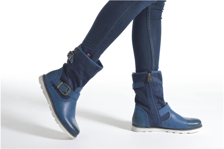 Bottines et boots Refresh Jessica 62233 Bleu vue bas / vue portée sac