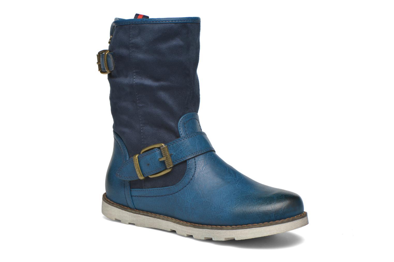 Bottines et boots Refresh Jessica 62233 Bleu vue détail/paire