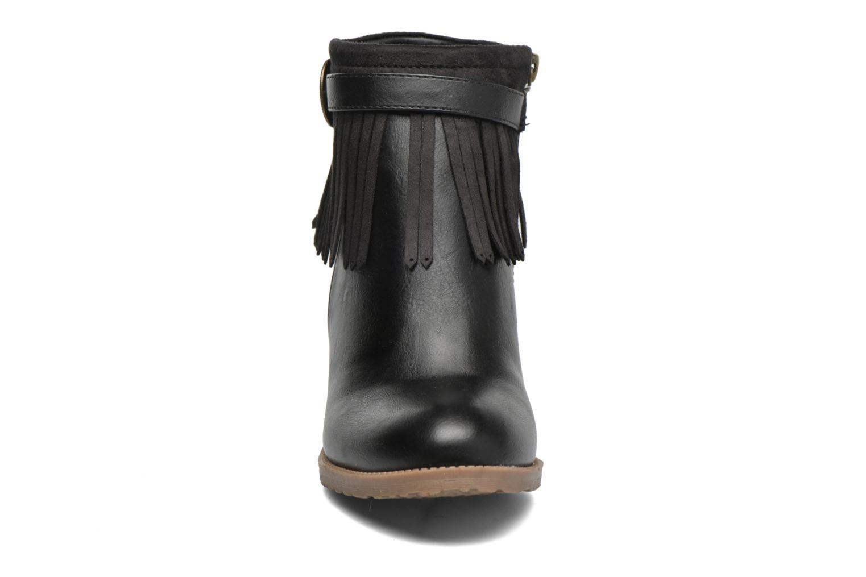Bottines et boots Refresh Priscilla 62231 Noir vue portées chaussures