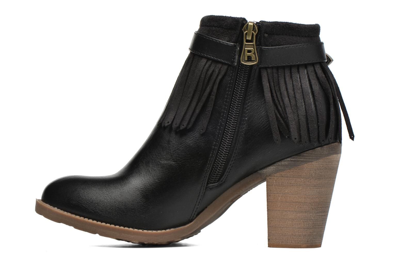 Bottines et boots Refresh Priscilla 62231 Noir vue face