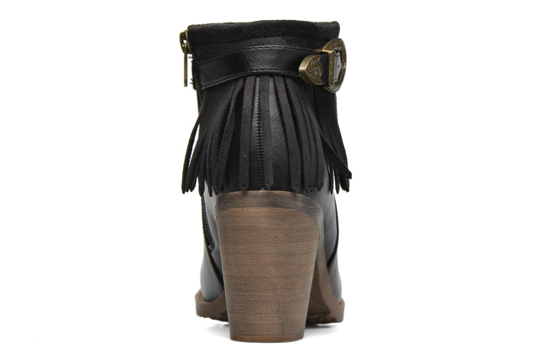 Bottines et boots Refresh Priscilla 62231 Noir vue droite