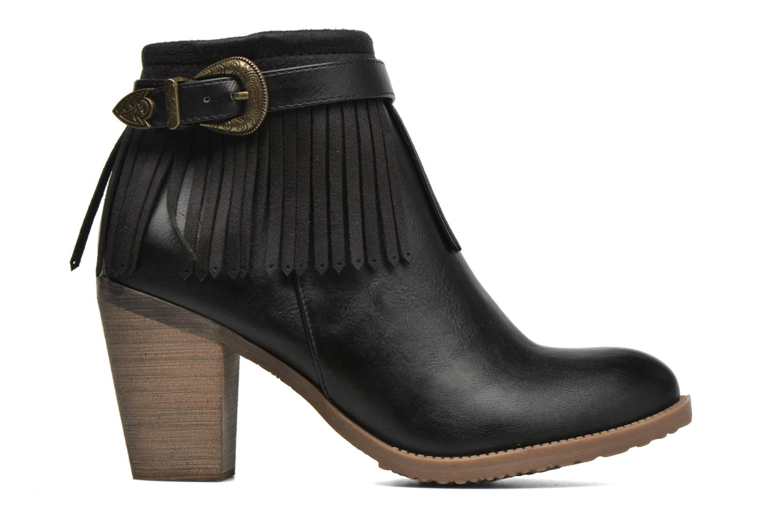 Ankle boots Refresh Priscilla 62231 Black back view