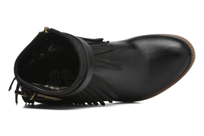 Bottines et boots Refresh Priscilla 62231 Noir vue gauche