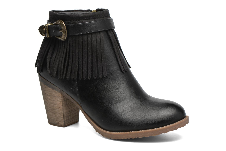 Bottines et boots Refresh Priscilla 62231 Noir vue détail/paire