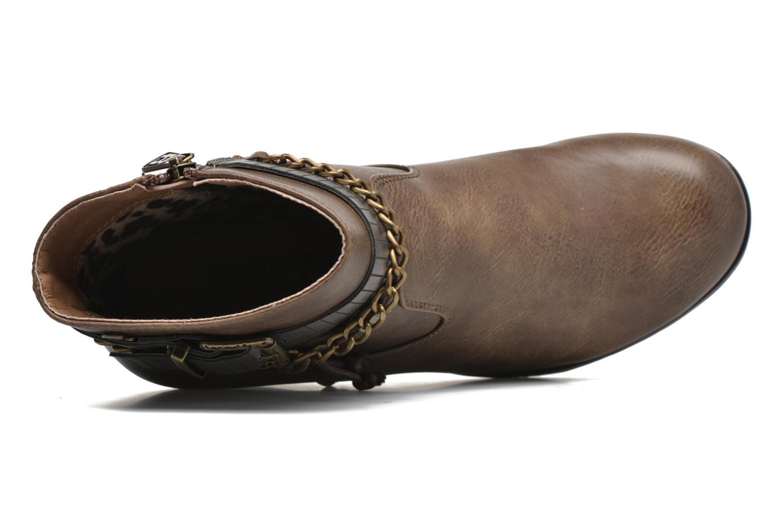 Stiefeletten & Boots Refresh Fiona 62170 braun ansicht von links