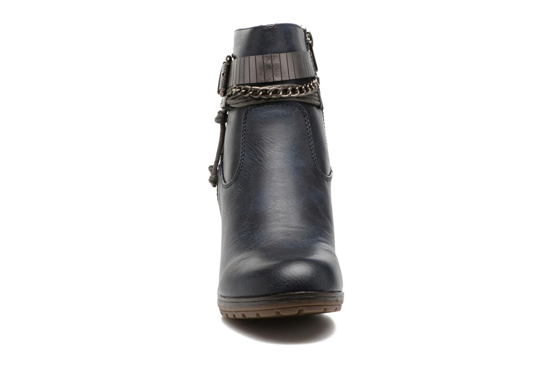 Stiefeletten & Boots Refresh Fiona 62170 blau schuhe getragen
