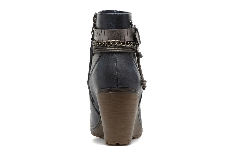 Stiefeletten & Boots Refresh Fiona 62170 blau ansicht von rechts