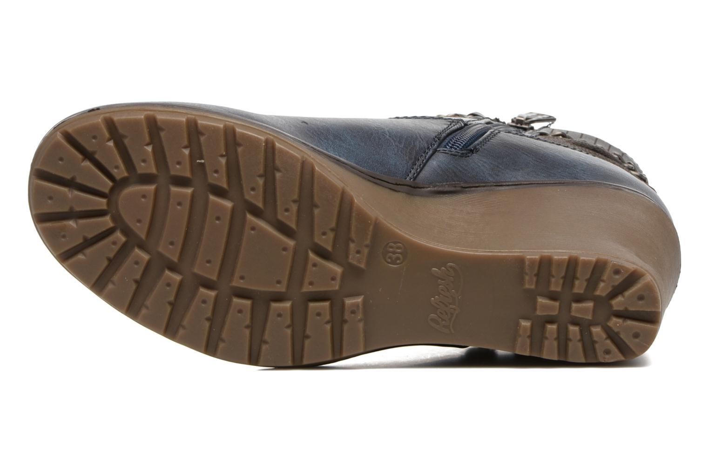Stiefeletten & Boots Refresh Fiona 62170 blau ansicht von oben