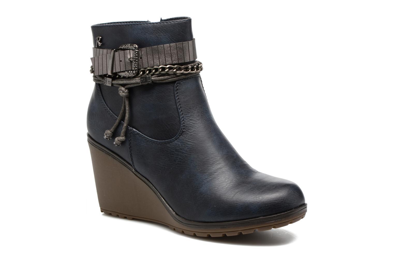 Stiefeletten & Boots Refresh Fiona 62170 blau detaillierte ansicht/modell