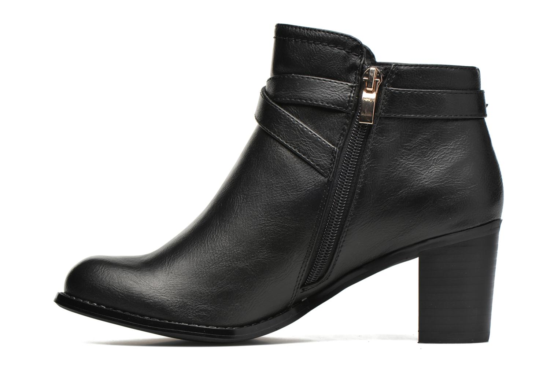 Bottines et boots Divine Factory Elisa Noir vue face