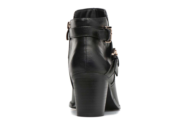 Bottines et boots Divine Factory Elisa Noir vue droite