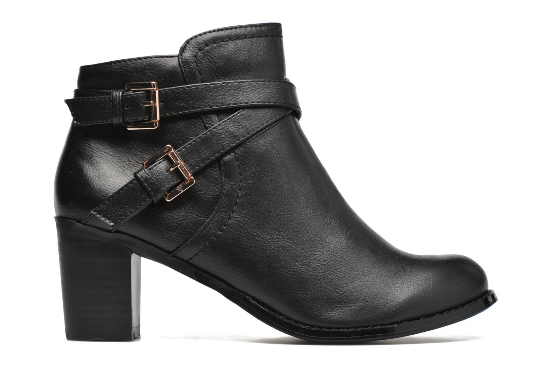 Bottines et boots Divine Factory Elisa Noir vue derrière