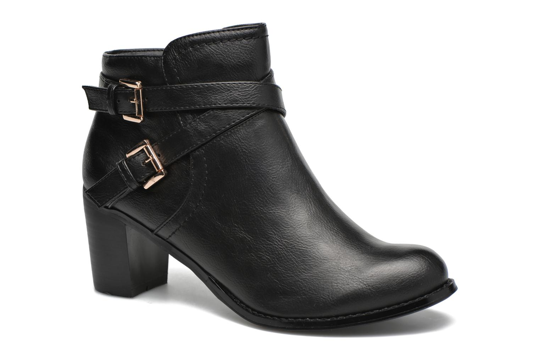Bottines et boots Divine Factory Elisa Noir vue détail/paire